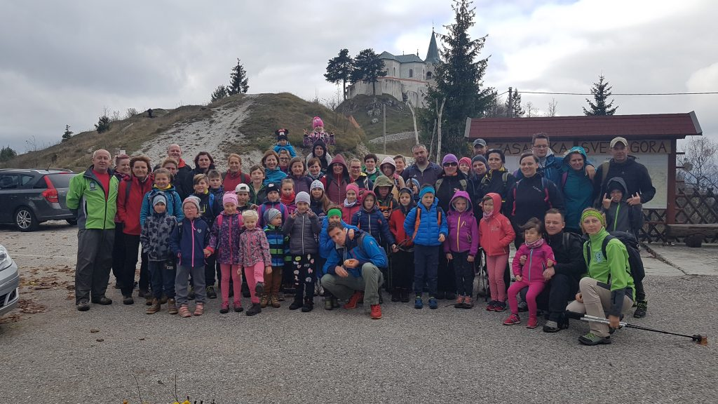 Planinski pohod na Zasavsko Sveto goro