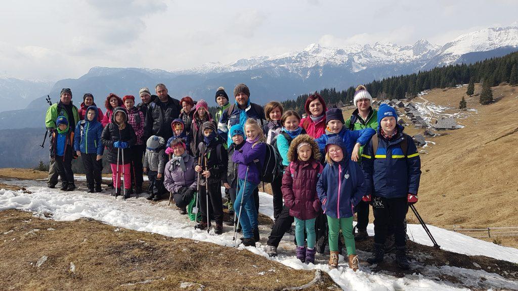 Planinski pohod na idilično planino Zajamniki